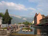 Ville et Lac d'Annecy