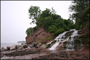 J'y étais jamais arrêtée... j'y retournerai. (Caplan, Québec, juillet 2009)